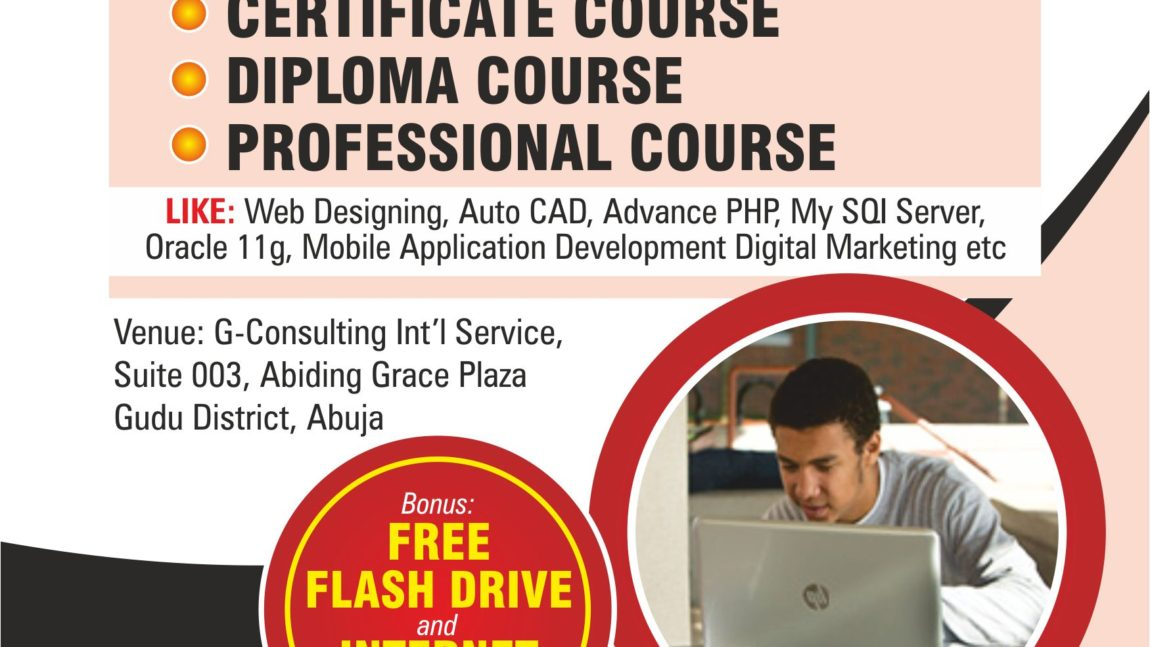 Learn more on ICT Diploma and Professional Courses Today@G-Learning Centre Africa